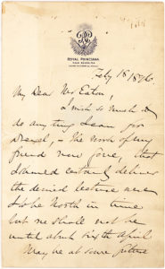 21583Autograph Letter Signed about Banker Anthony Drexel Written from Palm Beach's Historic Royal Poinciana Hotel