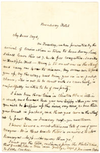 "18493An Amusing and Unpublished Autograph Letter Signed by the Author of ""The Last of the Mohicans,"" Mentioning Jenny Lind's Celebrated American Tour"