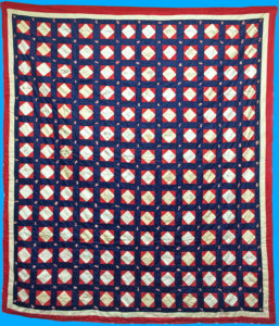 21575Unique Antique Quilt with 168 Ink signatures of Presidents, Civil War Officers and Generals, Politicians, Authors, Suffragists, Scientists, etc.