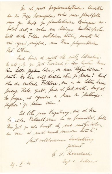 """Typed Letter Signed by the Pioneering Neurosurgeon: """"I am sorry you are having trouble with your eyes, but what tropic eyes may be,  unless heliotropic, I am at a loss to know"""""""