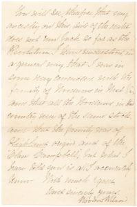 20167A Detailed Autograph Letter Signed Discussing Wilson and Woodrow Family Genealogy and his Scotch-Irish Ancestry