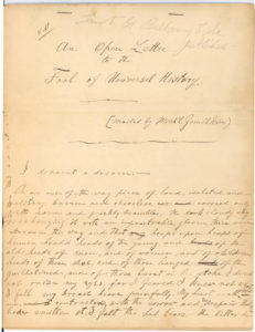"""Autograph Manuscript Signed by the Co-Founder of the """"Jewish Daily Forward:"""" """"The Pinkerton in America is a striking proof that vicarious atonement is indeed Christian…"""""""