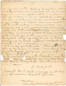 "18116Autograph Manuscript Signed by the Co-Founder of the ""Jewish Daily Forward:"" ""The Pinkerton in America is a striking proof that vicarious atonement is indeed Christian…"""