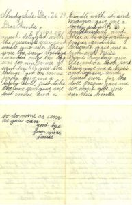 Youthful Autograph Letter Signed by the Eight-Year-Old Future American Contralto