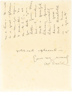 30206Charming Autograph Letter Signed to British Editor, Translator and Journalist, Frederic Whyte