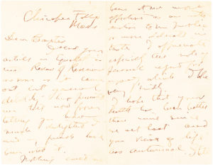 """Rare Autograph Letter Signed by the Author of """"Looking Backward"""" Sending Its Sequel, """"Equality"""" to the American Writer and Urban Planner Sylvester Baxter"""