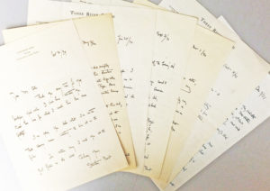 30251Archive of Seven Autograph Letters Signed by the American Writer, Poet and Dude Ranch Pioneer