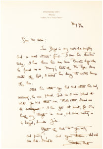 Archive of Seven Autograph Letters Signed by the American Writer, Poet and Dude Ranch Pioneer