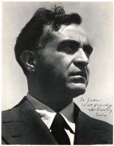 30307Uncommon Signed Photograph by Mexico's Most Famous 20th Century Composer and Musicologist