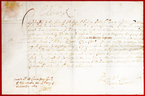 30256The King Signs a Document on Guy Fawkes Day Appointing the Former Governor of Jamaica, Sir Charles Lyttelton, a Captain of a Company of 200 Hundred Men