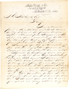 "30366Excellent and Rare Autograph Letter Signed on Financial Matters by the ""Merchant Prince"" of Wall Street"