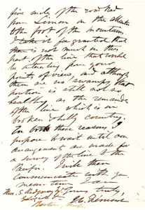 """30499Autograph Letter Signed by the First Republican Presidential Candidate about his Controversial Railroad Across Costa Rica, """"from Limon on the Atlantic to the foot of the mountains"""""""