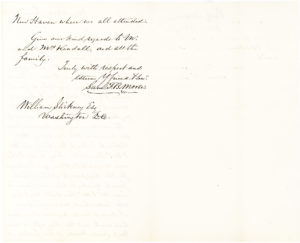 Autograph Letter Signed by the Inventor of the Telegraph about Money and Marriages
