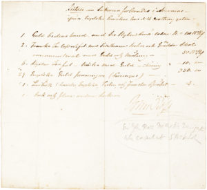 30203Manuscript Document Signed by the Scottish Polar Explorer Who Led the 1850 Expedition in Search of Sir John Franklin