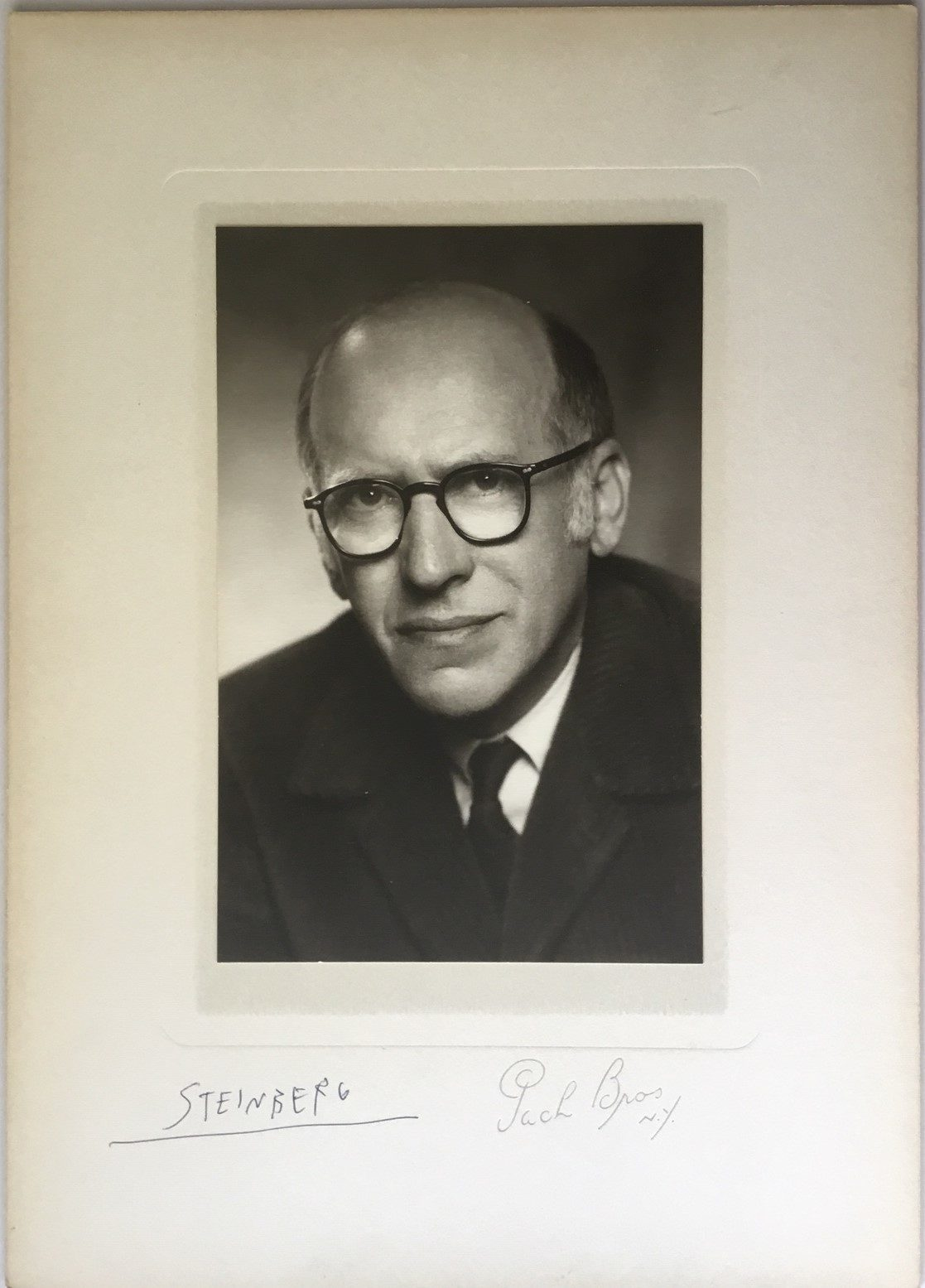 """Rare Signed Photograph by the Influential """"New Yorker"""" Magazine Artist"""