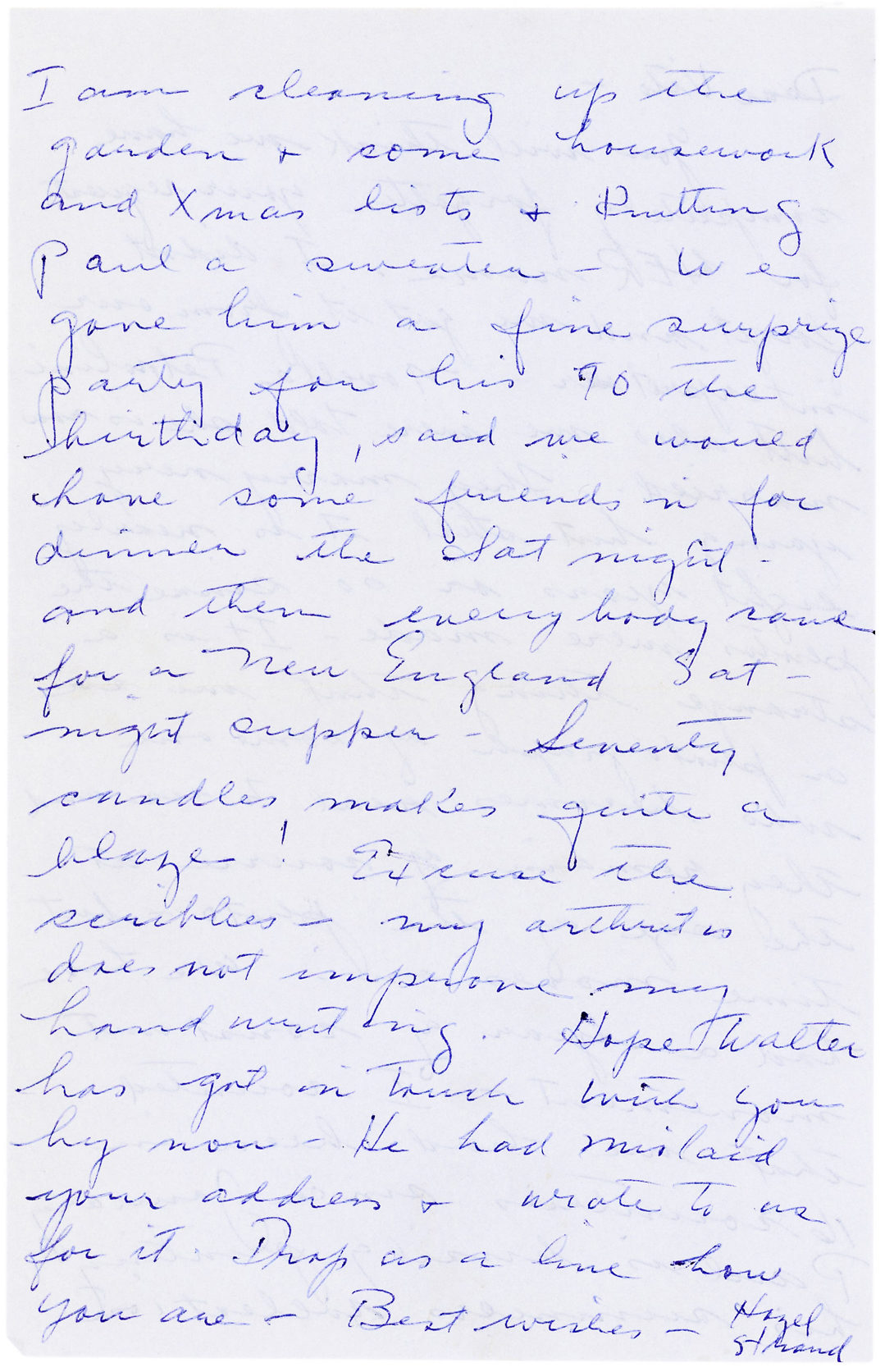 "Autograph Letter Signed Referring to the Subject of One of His Famous Italian Portraits: ""I do happen to have a print of the little girl apprentice with me"""