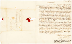 32069An Extremely Rare and Early Autograph Letter Signed by the Future Empress of Russia