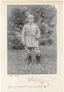 """Inscribed and Signed Photograph of Germany's Last Emperor: """"Germany's Warguilt is a foul & filthy lie!"""""""
