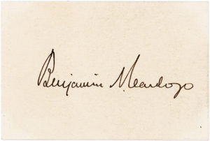 33332Signature of the American Jurist and Associate Justice of the United States Supreme Court