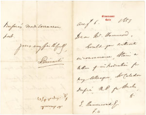 33664Autograph Letter Signed by the British Prime Minister who Became Queen Victoria's Trusted Advisor and Confidant