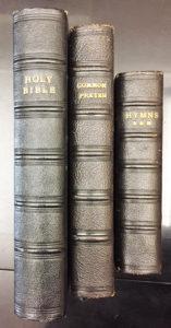 33384The King's Bible: Three Gift Presentation Copies Bearing King George VI's Emblem