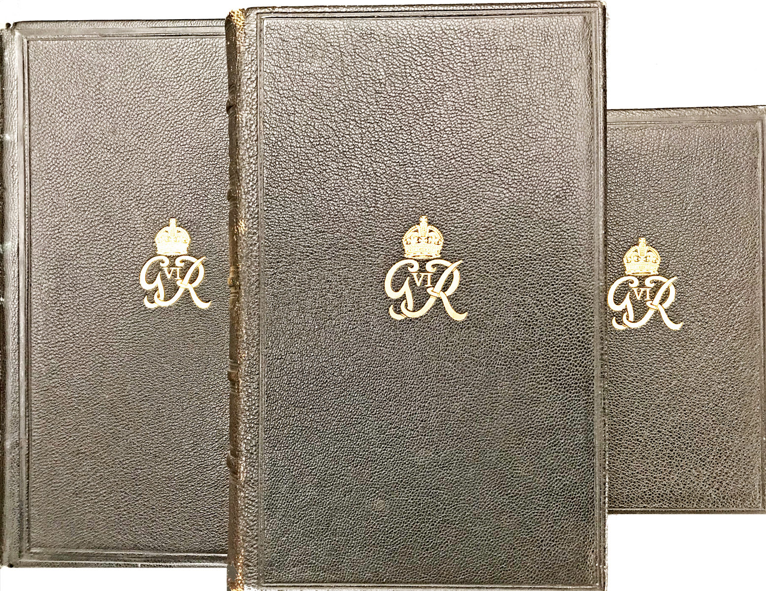 The King's Bible: Three Gift Presentation Copies Bearing King George VI's Emblem