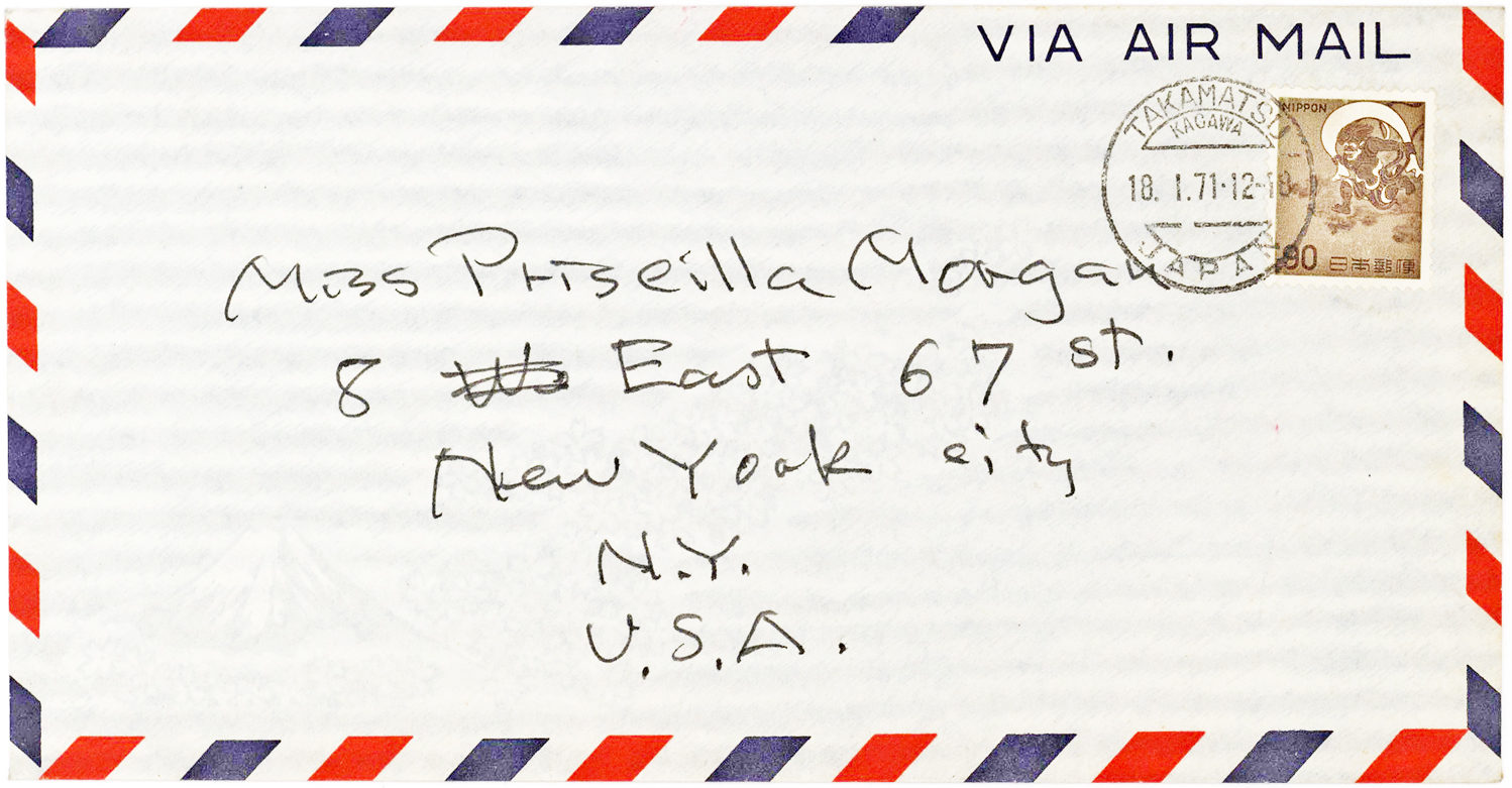 Autograph Letter to his Longtime Mistress from the World-Renowned Japanese-American Sculptor and Designer