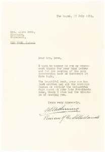 33669Very Rare Letter Signed after her Abdication by the Queen of the Netherlands, who Reigned for Fifty Years