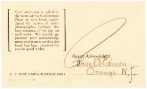 """33940Document with Edison's Bold """"Umbrella"""" Signature"""