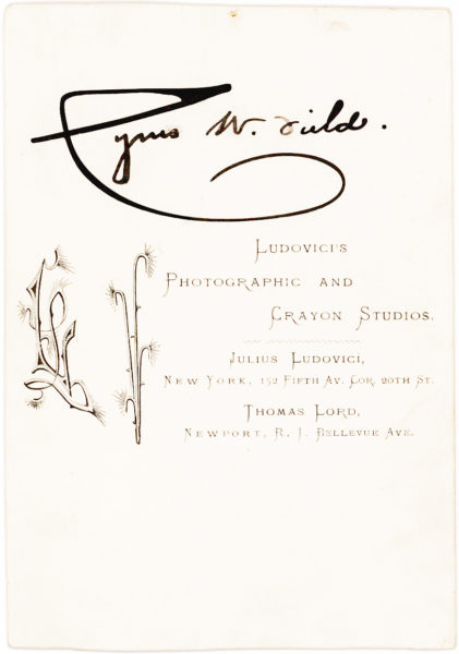 "Excellent and Rare Autograph Letter Signed on Financial Matters by the ""Merchant Prince"" of Wall Street"