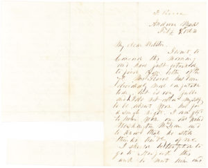"33878Franklin Pierce Autograph Letter on Abolition and ""Negro Mania,"" Six Weeks after Lincoln's Emancipation Proclamation"