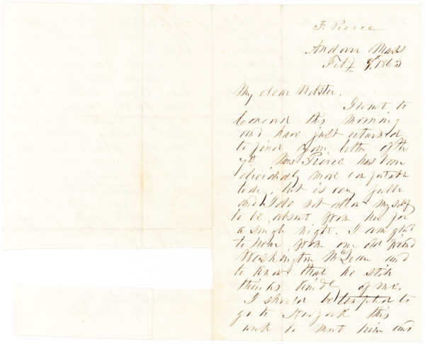 "Former U.S. President Franklin Pierce in an eleven-page autograph letter describes his impressions of Europe, war between France and Austria, and U. S. local and national politics: ""I am not surprised that Mr. [James] Guthrie should be thought of & spoken of as our next candidate for the presidency"""