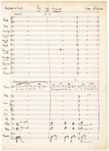 34319Rare Autograph Manuscript by One of Spain's Leading Composers, Isaac Albeniz