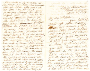 "34594Former U.S. President Franklin Pierce in an eleven-page autograph letter describes his impressions of Europe, war between France and Austria, and U. S. local and national politics: ""I am not surprised that Mr. [James] Guthrie should be thought of & spoken of as our next candidate for the presidency"""