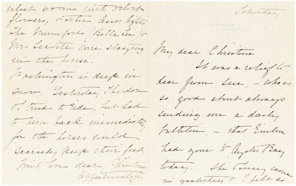 """Theodore Roosevelt Praises a Defender of Religious Freedom: """"It is a pleasure to see a public servant show under trying circumstances the courage, ability and sense of right that you have shown"""""""