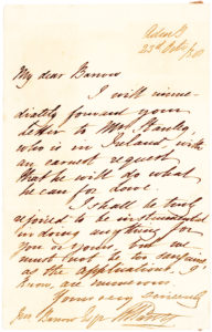 "34970Autograph Letter Signed by the English Explorer who Reached the Arctic ""Farthest North"" in 1827, a Record Held for Nearly 50 Years"