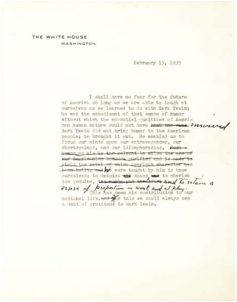 Very Hopeful Typed Letter Signed on White House Stationery by President Lyndon B. Johnson