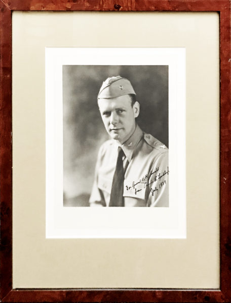 Signed Informal Photograph of the Aviator and Competitor of Charles Lindbergh to be the First to Fly Solo Across the Atlantic and Win the $25,000 Orteig Prize
