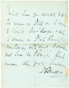 36687Rare Letter by the Editor Who Sent Stanley in Search of Livingstone