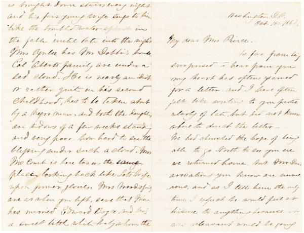 Benjamin Harrison's Widow Writes about American Youth