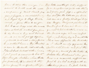 The Future First Lady of the Confederacy Writes to Former First Lady Jane Pierce on the Eve of the Civil War