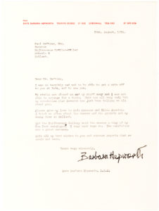 36991The English Modernist Sculptor Writes to the Curator of the Dutch Kröller-Müller Museum