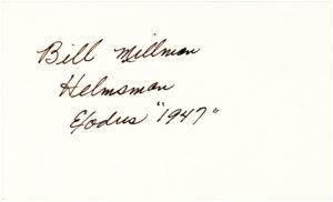 36773The Helmsman of the Historic Ship Exodus 1947