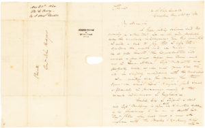 Early and Rare ALS to John Rodgers while Patrolling the Mediterranean Sea