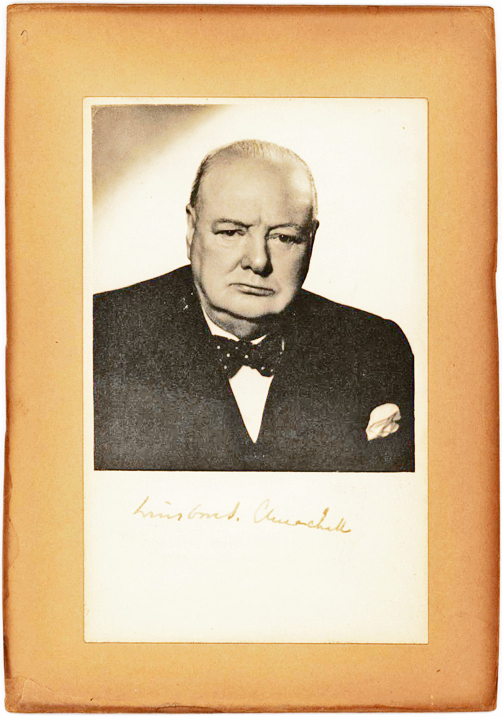 The Classic Signed Portrait Taken by Vivienne