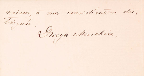 Autograph Letter Signed from Paris Where the Future Czech President Sought Support for the Czech Independence Movement