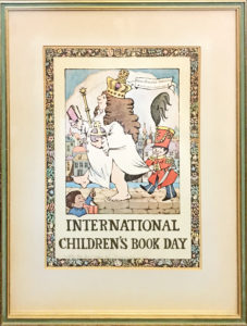 37450His International Children's Book Day Poster Signed & Mentioning Hans Christian Andersen