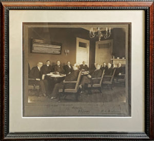 37521Enormous Signed Photograph of President Wilson's First Cabinet