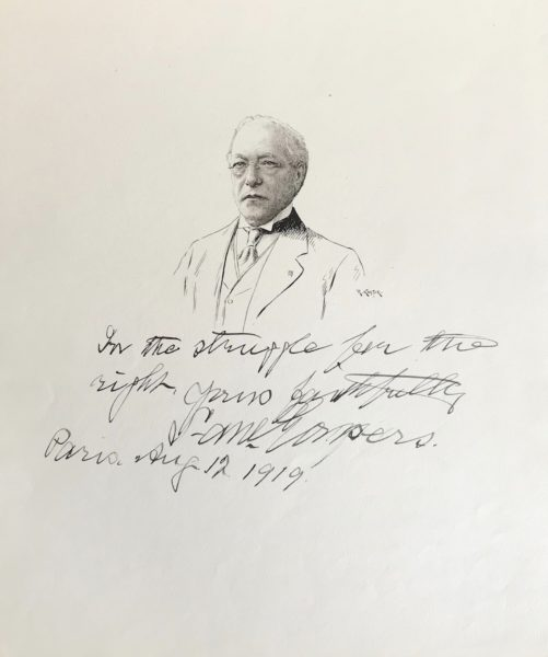Magnificent Signed Drawing of the Chief Justice of the U.S. Supreme Court