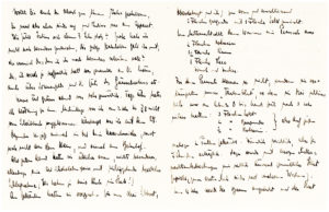 Lengthy Letter to his Wife as he Celebrates the New Year During WWI